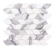 Love our gorgeous marble! Marble Mosaic, Marble Floor, Mosaic Tiles, Wall Tiles, Tile Floor, Mosaics, Kitchen Tiles, Kitchen Flooring, Pool House Bathroom