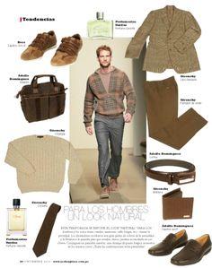 Look Natural para Ellos - Revista J #love #like #trends #lima #shopping @jockeyplaza