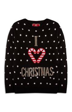 Primark - Weihnachtspullover (Teeny Girls)