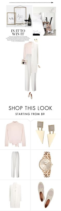 """Sunday fab ♡"" by miss-milika ❤ liked on Polyvore featuring Alexander McQueen, Topshop, Vanessa Bruno, Stührling, Roland Mouret, Rebecca Minkoff, Karl Lagerfeld, men's fashion and menswear"