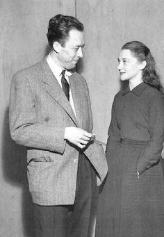 Albert Camus et Maria Casarès, années 1940