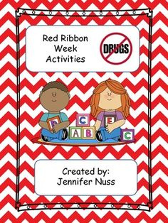 Red Ribbon Week Activity Book