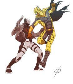 COM Nightclaw vs Jager by chou-roninx on DeviantArt Alien Character, Comic Character, Character Concept, Superhero Characters, Fantasy Characters, Comic Art, Comic Books, One Punch Man Manga, Alternative Comics