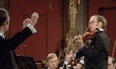 Gidon Kremer plays Wolfgang Amadeus Mozart's Violin Concerto No. 1 in B-flat major, K. 207. Wiener Philharmoniker conducted by Nikolaus Harnoncourt.