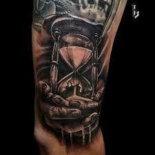 Imagini pentru broken hourglass tattoo