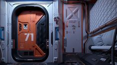 ArtStation - Section 71, Gesy Bekeyei Spaceship Interior, Futuristic Interior, Spaceship Art, Spaceship Design, Spaceship Concept, Futuristic Art, Sci Fi Environment, Environment Design, 3d Modellierung