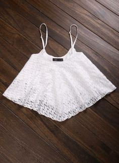 White Laced Crop Top,  Top, lace  mesh  see through, Bohemian (Boho) / Hippie