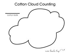 See how many cotton ball will fit in the cloud. Then write that number in the blank. This is a game I created to go with my weather unit. I put them in sheet protectors so the kids could write on them and just wipe it off so I didn't have to keep making copies.