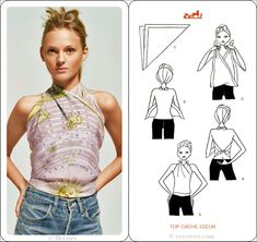 How To Tie A Scarf - Hermès Scarf Knotting Cards Vol.3 - TOP CACHE