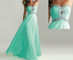tiffany blue dress blue prom dress long prom dress by sposadress, $159.00