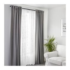 MYRTEN Lace Curtains, 1 Pair   IKEA · Sheer Curtains BedroomGrey ...