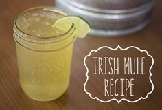 Irish Mule Cocktail Recipe - St. Patrick's Day DIY Inspiration & Tutorials