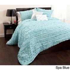 Lush Decor Modern Chic 5-piece Comforter Set | Overstock.com Shopping - The Best Deals on Comforter Sets