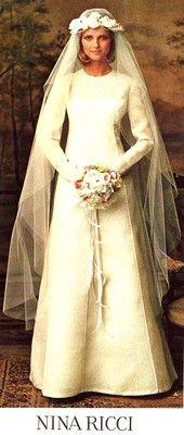 1970s bride 70s wedding