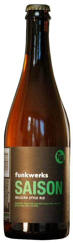Funkwerks Saison-Belgian Style Ale