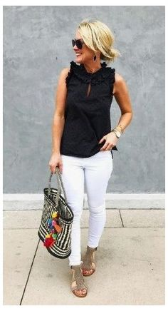 Simple Casual Outfits, Classy Summer Outfits, Summer Outfits Women Over 40, Classy Casual, Over 40 Outfits, Stay Classy, Classy Chic, Clothes For Women Over 40, Plus Size Fashion For Women