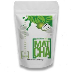 Boutique Crafted Soursop Green Tea Powder - For Ultimate Well Being
