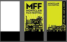street banners for Montclair Film Festival