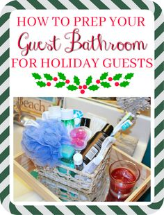 Bright on a Budget: How to Prep Your Guest Bathroom for the Holidays