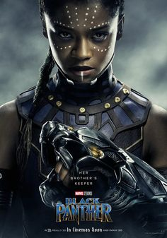 """Black Panther"" Posters Released New posters for Marvel Studios ""Black Panther"" has been released. ""Black Panther"" is an upcoming superhero film based on Black Panther Marvel, Shuri Black Panther, Black Panther Character, Black Panther 2018, Marvel Dc, Marvel Comics, Marvel Heroes, Poster Marvel, Marvel Women"