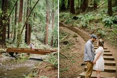 Muir Woods Engagement Photos with Lori and Jay!