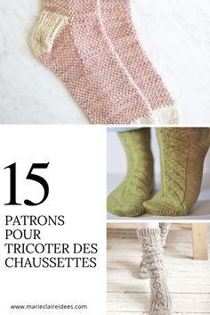 15 patrons pour tricoter des chaussettes / Knitting Patterns