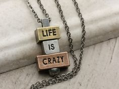 Sometimes life gets crazy, and the 212 west necklace collection is a welcome reminder that all is not lost, when times get hard. Build your own empowering and inspiring necklace at 212west.com