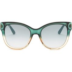 90c1d832e9a GUCCI Women s Cat Eye Sunglasses ( 120) ❤ liked on Polyvore featuring  accessories