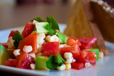 Gojee - Tomato, Avocado, and Corn Salad by Veggie Dreamgirl