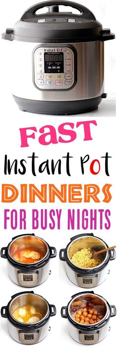 Instant Pot Recipes Easy Family Dinners for Busy Nights! Need dinner done in a j. Instant Pot Recipes Easy Family Dinners for Busy Nights! Need dinner done in a jiffy? You& love this HUGE list of easy pressure cooker recipes f. Easy Pressure Cooker Recipes, Instant Pot Pressure Cooker, Slow Cooker Recipes, Cooking Recipes, Pressure Cooking, Healthy Recipes, Cooking Pork, Keto Recipes, Cooking Games