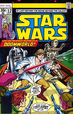 My first Star Wars comic, first time glimpsing the Expanded Universe.