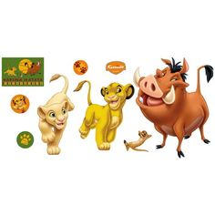 Disney The Lion King Wall Graphic *** This is an Amazon Affiliate link. Visit the image link more details.