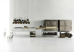 Because in Europe, we take our kitchens with us. Boffi Kitchenology 2015 Campaign