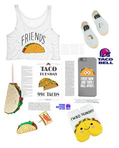"""""""tacos"""" by arianak16 on Polyvore featuring Forever 21, Kate Spade, Betsey Johnson and Soludos"""