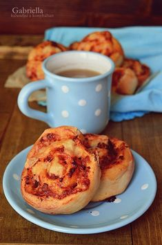 Gabriella kalandjai a konyhában :): Pizzás csiga French Toast, Cooking Recipes, Breakfast, Foods, Drinks, Morning Coffee, Food Food, Drinking, Food Items