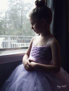 Lavender Tulle Flower Girl Dress - King Soleil - 8