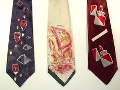 1940s Neckties Ties
