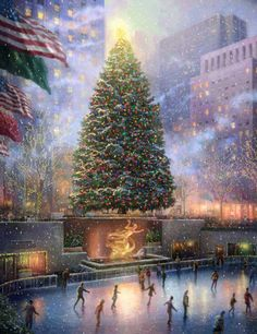 Christmas in the city----------Art