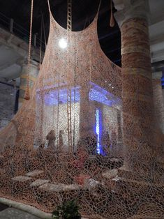 BIENNALE 2017-ARSENALE Installation Street Art, Venice Travel, Venice Biennale, Petunias, Cozy House, Textile Art, Museums, Galleries, Contemporary Art