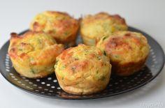Muffin salati alle verdure, scopri la ricetta: http://www.misya.info/2012/03/28/muffin-salati-alle-verdure.htm