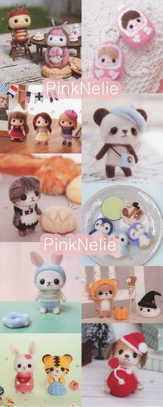 Needle Felting n3480 - Japanese Craft Book. $25,00, via Etsy.