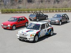 Peugeot 205s Rally Car, Car Car, 309 Gti, Best Logo Design, France, Retro Cars, Cool Logo, Peugeot 205, Car Pictures