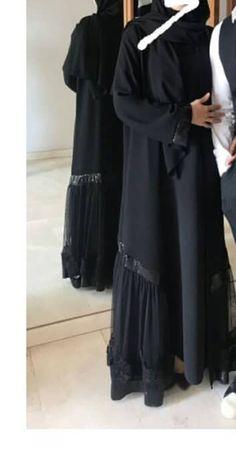 Abaya Designs, Islamic Fashion, Hijab Styles, Abaya Fashion, Hijabs, Gentleman, Sewing Patterns, Hacks, Clothes For Women