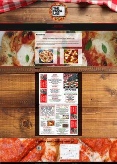 Website for pizza restaurant Extra Pizza, Service Awards, Pizza Restaurant, Create Your Own, Web Design, Menu, Website, Breakfast, Creative