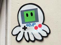 Gz'Up Parisian street art Paris Street Art Photo copyright Dudy