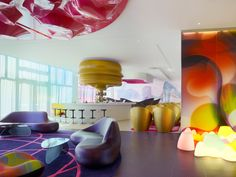 Nhow Hotel in Berlin by Karim Rashid | Hotel Interior Designs