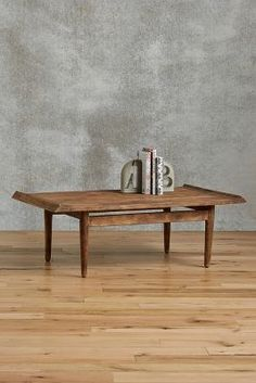 Anthropologie Burnished Wood Coffee Table #anthroregistry
