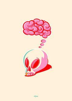 brainless by Ricardo Machado - design illustration studio, via Flickr