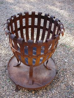 """Fantastic """"outdoor fire pit designs"""" info is offered on our internet site. Take a look and you wont be sorry you did. Iron Fire Pit, Fire Pit Grill, Metal Fire Pit, Diy Fire Pit, Outdoor Kitchen Design, Patio Design, Fire Pit Party, Fire Basket, Fire Pots"""
