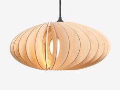 NEFI lampe bois, lampe suspension, lampe, éclairage à suspension